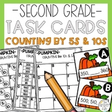 Counting by 5s 10s Task Cards