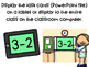 Digital Math Task Cards Subtraction to 5