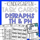 Digraphs PH TH Reading Task Card Game