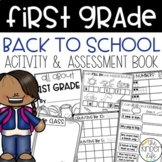 First Grade Back to School Assessment Book