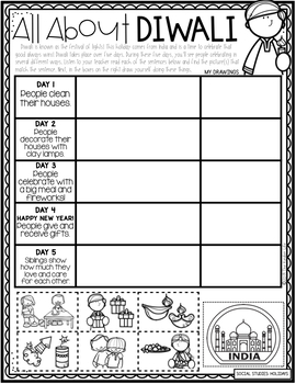 Kindergarten Holidays Around the World December Sub Plans