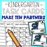 Make Ten Addition Partners Math Task Cards