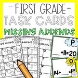 Missing Addends Math Task Cards