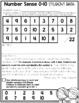 Number Sense 0-10 Assessment Game