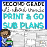 Second Grade Emergency Sub Plans May Insects