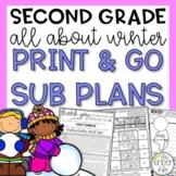 Second Grade Winter Emergency Sub Plans January