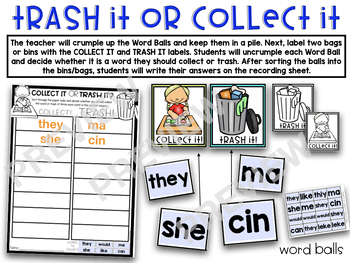 Sight Word Games EDITABLE Auto-Fill PART 3
