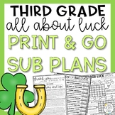 St. Patrick's Day Third Grade Sub Plans