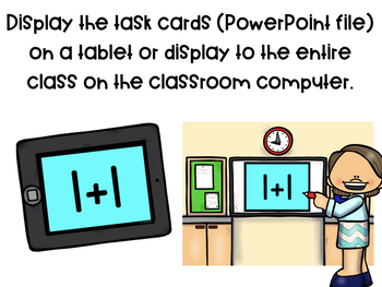 Addition to 5 Digital Math Task Cards