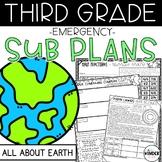 Third Grade Earth April Sub Plans