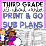 Third Grade Emergency Sub Plans Winter