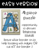 Uppercase Letter Puzzles