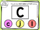 Uppercase Lowercase Letter Matching DIGITAL Assessment Game