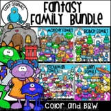 Fantasy Family Clip Art Bundle - Chirp Graphics