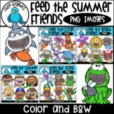 {30% OFF!} Feed the Summer Friends PNG Bundle