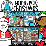 North Pole Christmas Clip Art Bundle - Chirp Graphics