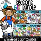 {50% OFF} Seasons GIF Bundle