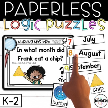picture regarding Quick Solve Mysteries Printable named PAPERLESS Challenge Resolving Mysteries Kindergarten 1st Quality Months 11-15