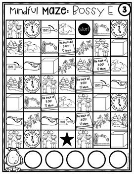 Digital Task Cards CVCe Words Interactive Mazes