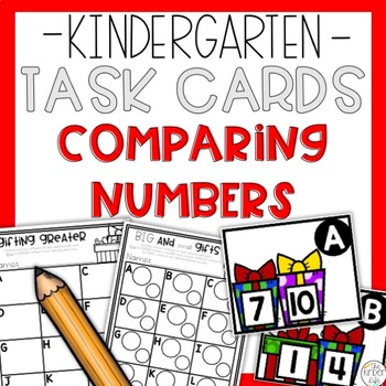 Comparing Numbers up to 10 Task Cards