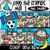 Feed the Friends Mix 1 PNG Bundle