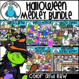 {55% OFF} Halloween Medley Clip Art Bundle
