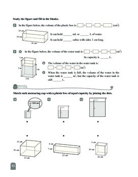 (6A) 14 Capacities and Volumes