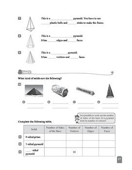 (6A) 4 3-D Shapes (I)