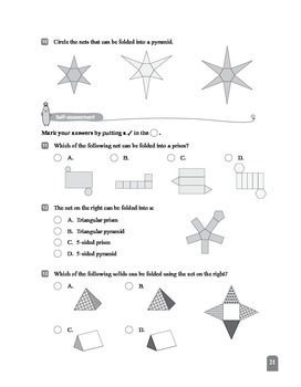 (6A) 5 3-D Shapes (II)