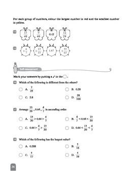 (6A) 7 Changing Decimals into Fractions and Fractions into Decimals (II)