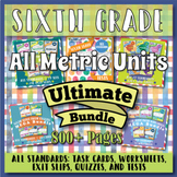 ⭐ The ULTIMATE 6th Grade Math Curriculum Bundle ⭐ with ALL METRIC UNITS