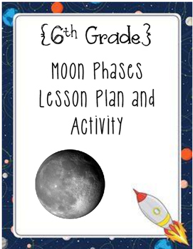 {6th Grade} Moon Phases & Oreo Activity