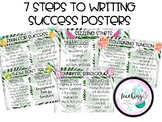 """7 Steps to Writing Success"" Posters - Fruit Theme"