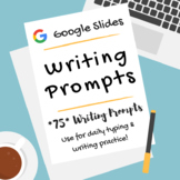 Google Writing Prompts for Upper Elementary/Middle School
