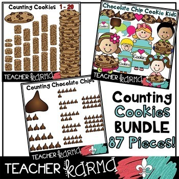 Counting Cookies BIG BUNDLE * Chocolate Chip Math FUN