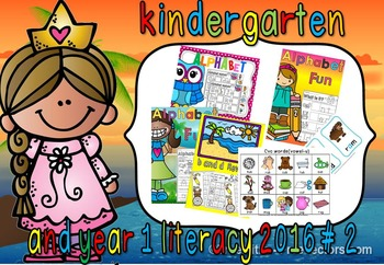 KINDERGARTEN AND YEAR 1 LITERACY (2016) SECOND EDITION