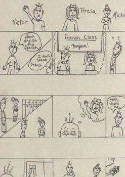 """7th Grade"" short story storyboards"