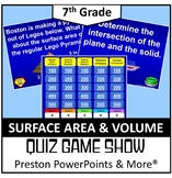(7th) Quiz Show Game Surface Area and Volume in a PowerPoi