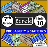 (7th) Probability and Statistics {Bundle} in a PowerPoint