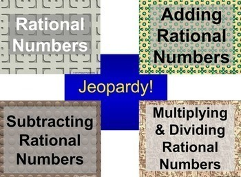 (7th) Rational Numbers {Bundle} in a PowerPoint Presentation