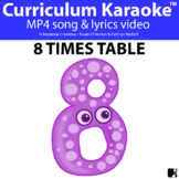 '8 TIMES TABLE' ~ Curriculum Song Video l Distance Learning