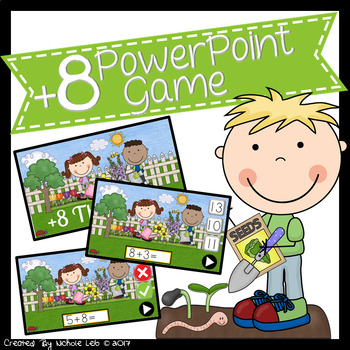 +8 - The Garden - PowerPoint Game