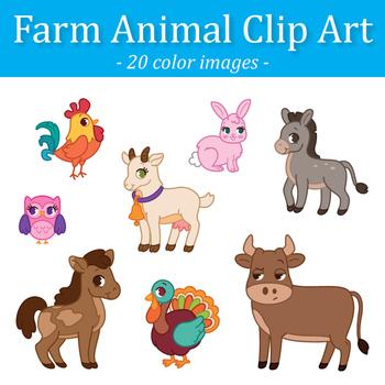 Free farm animal clipart for teachers - photo#49