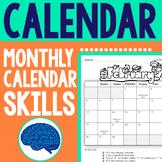 Calendar Skills for Grades K-2 (January to December 2018)