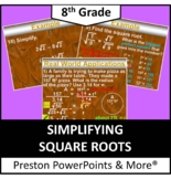 (8th) Approximating Square Roots and Repeating Decimals in a PowerPoint
