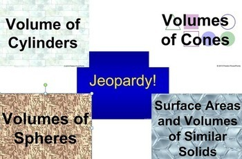 (8th) Volume and Similar Solids {Bundle} in a PowerPoint Presentation