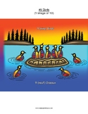 #9 Birds, Numbers, Animals, First Nations, Indigenous, Aboriginal