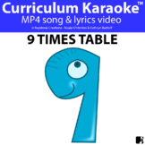 '9 TIMES TABLE' ~ Curriculum Song Video l Distance Learning
