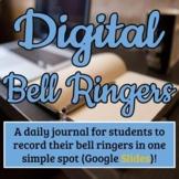 {90} Digital Writing Prompts - Editable in Google Slides -