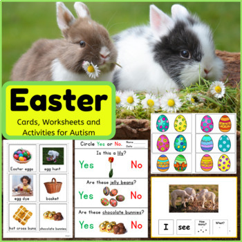 Easter Activities BUNDLE for Autism and Special Education